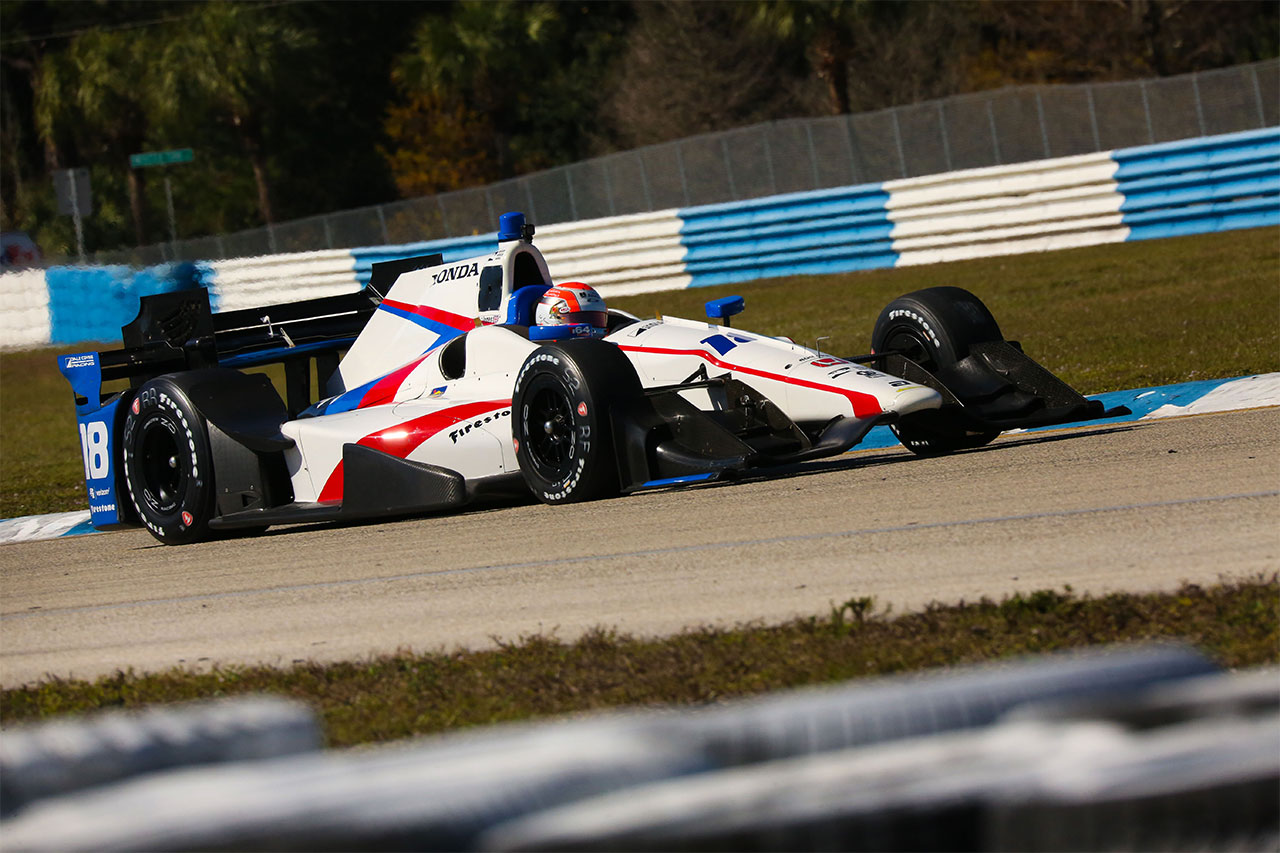Ed Jones IndyCar Dale Coyne Racing