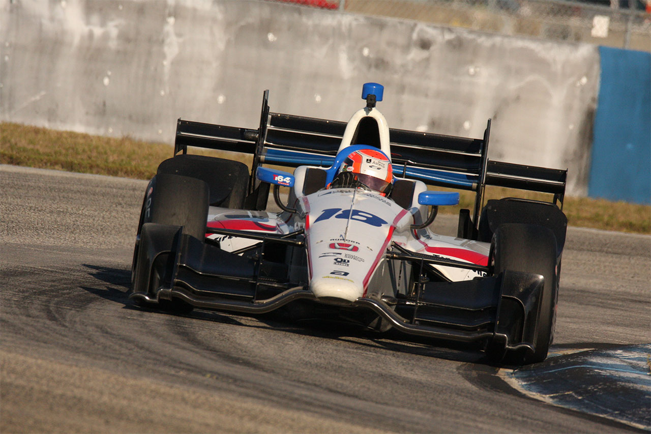 Ed Jones Phoenix Indycar Dale Coyne Racing