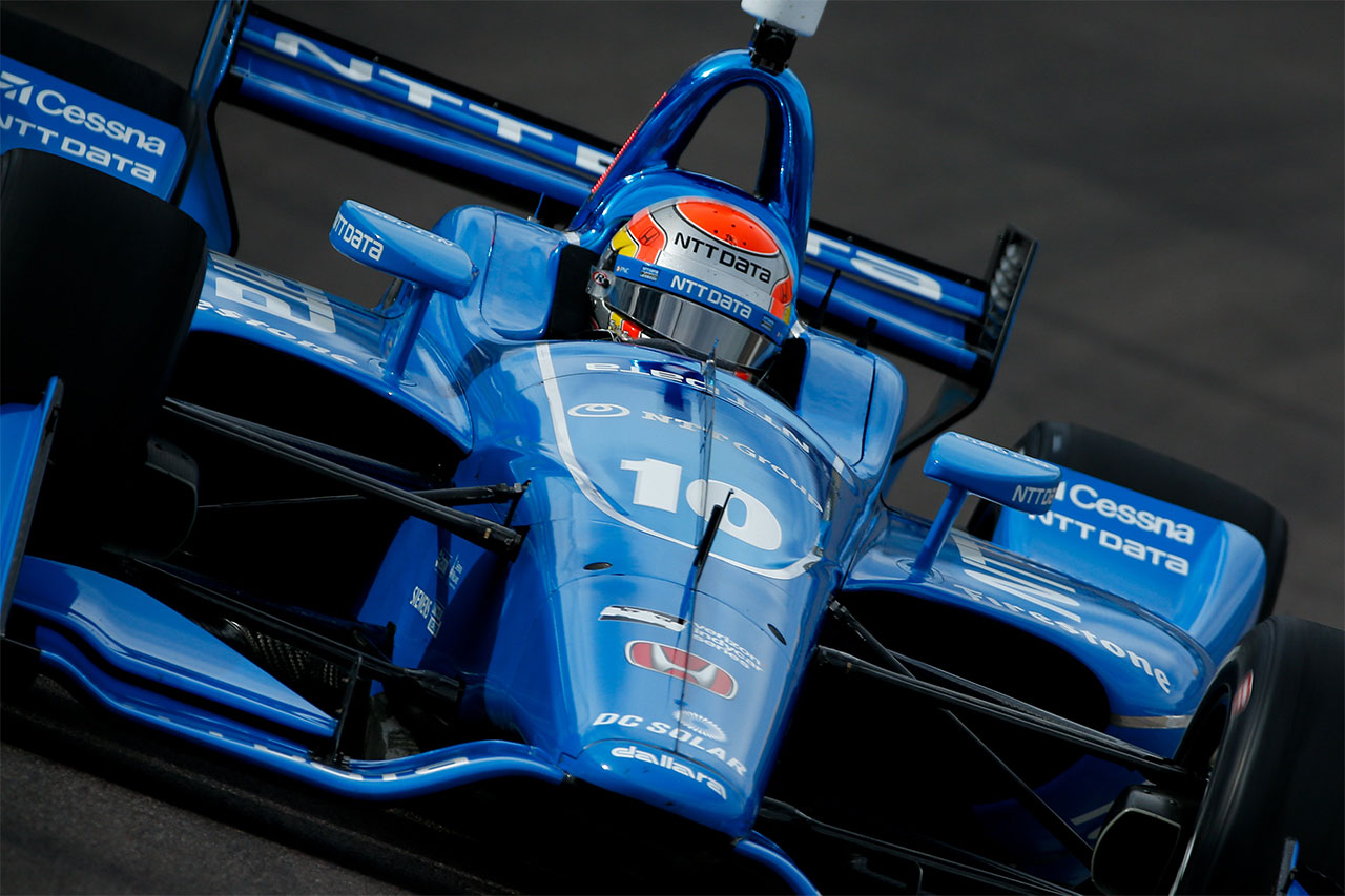 Ed Jones 2018 Indy Car Chip Ganassi Racing Phoenix Test 2