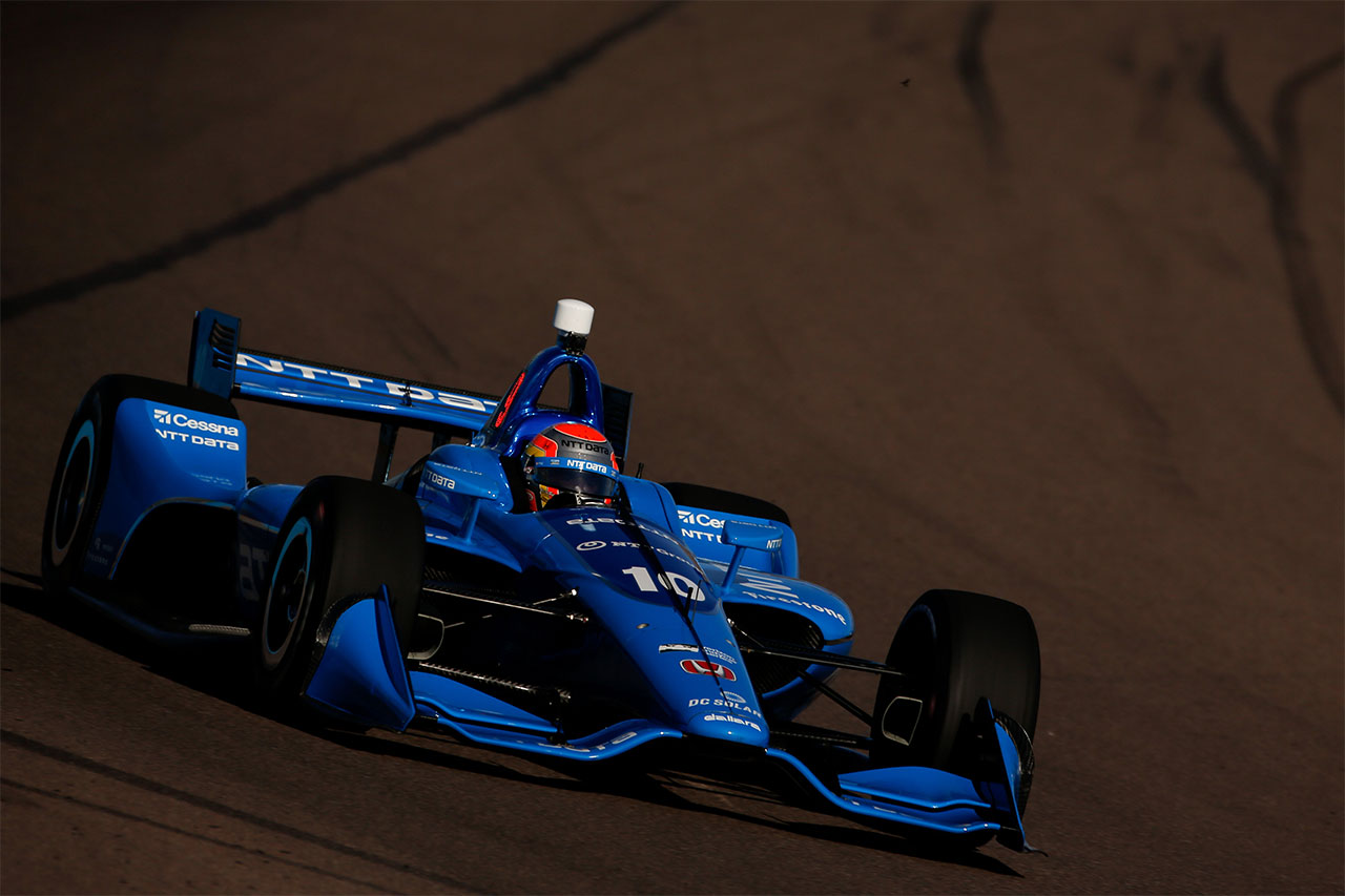 Ed Jones 2018 Indy Car Chip Ganassi Racing Phoenix Test 3