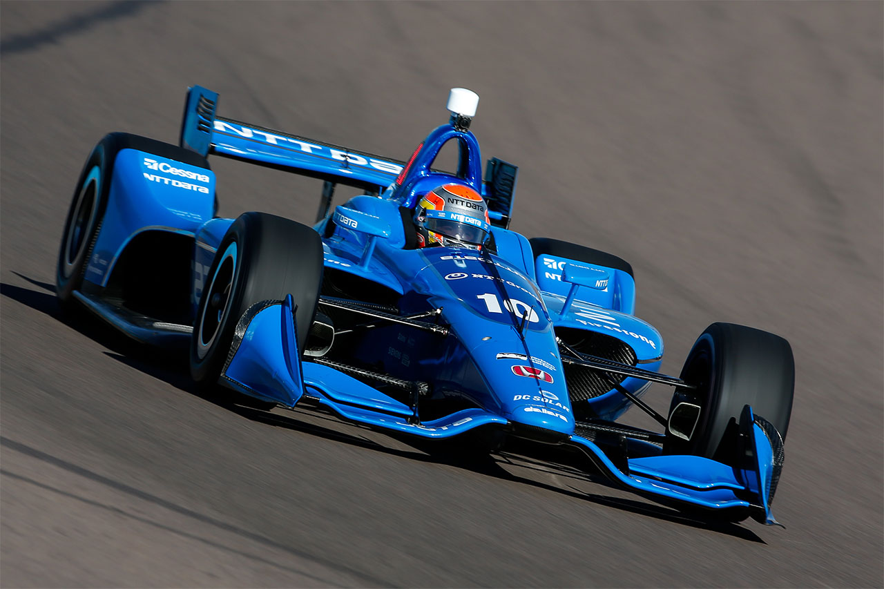 Ed Jones 2018 Indy Car Chip Ganassi Racing Phoenix Test 6