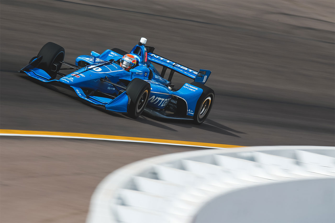 Ed Jones 2018 Indy Car Chip Ganassi Racing Phoenix Test