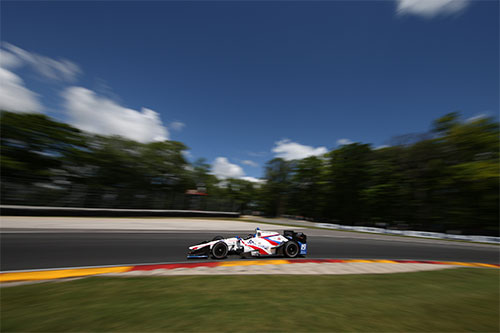 Jones returns to championship top ten with Road America charge
