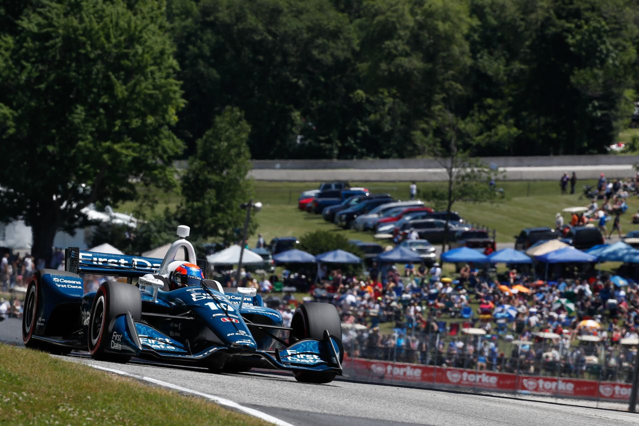 Ed Jones Chip Ganassi Racing Verizon IndyCar Series Road America 2018 006