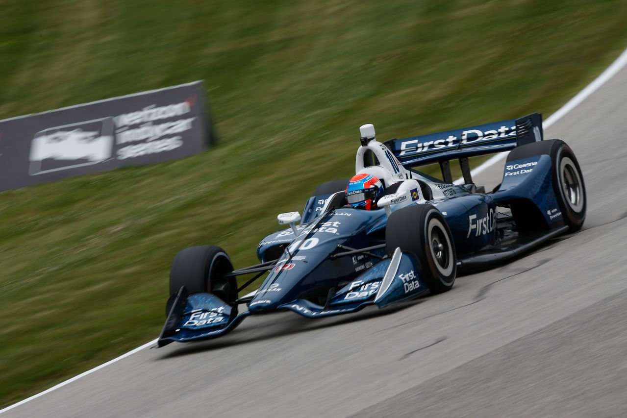 Ed Jones Chip Ganassi Racing Verizon IndyCar Series Road America 2018 010
