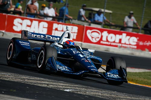 Jones maintains upward momentum with Road America top ten charge