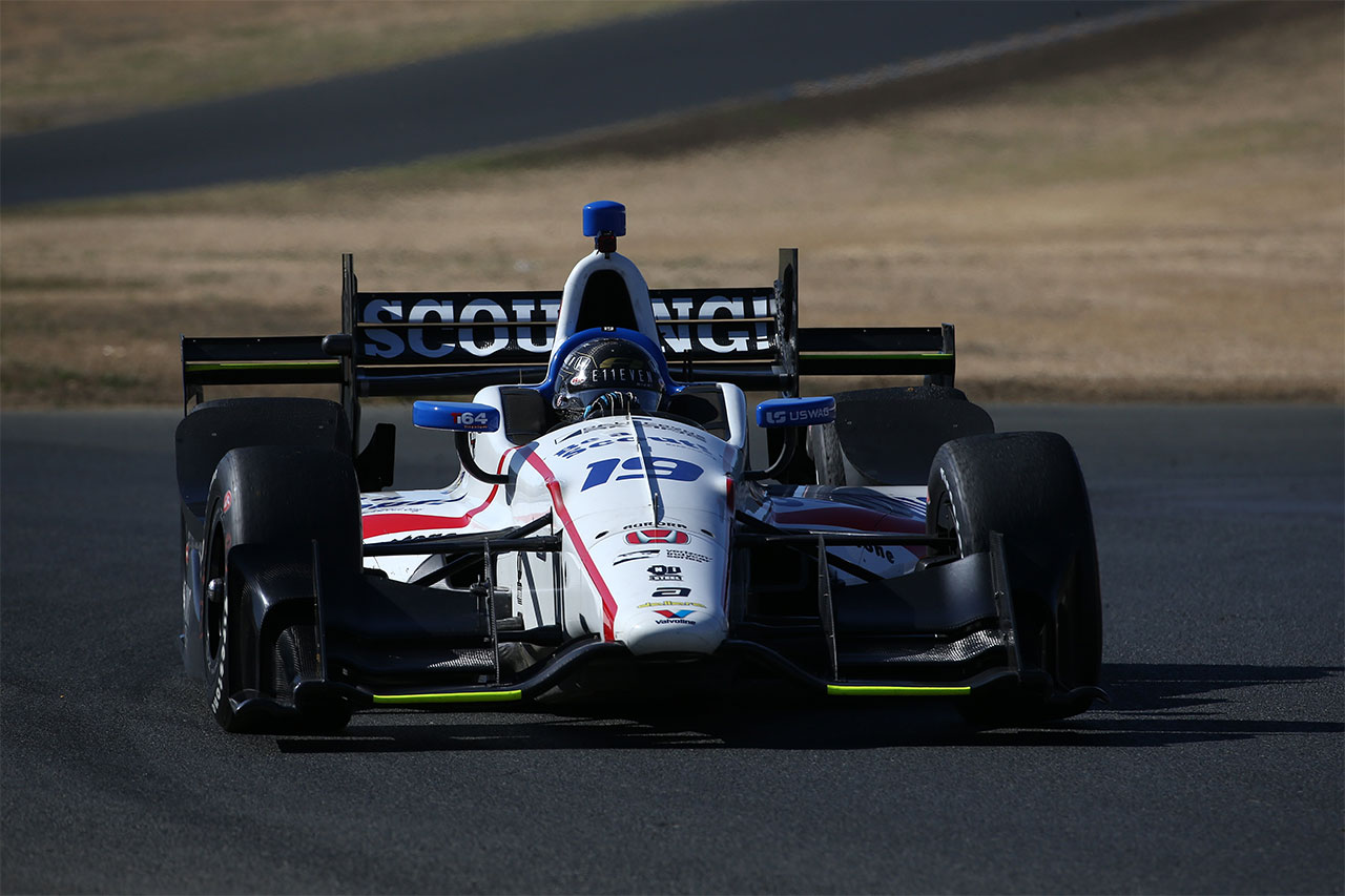 Sonoma Ed Jones Indy Car 7