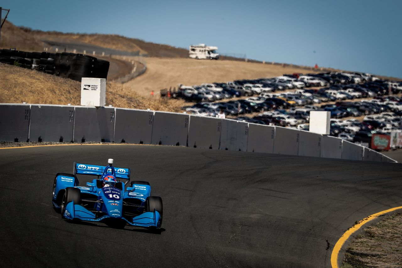 Ed Jones Indy Car Sonoma 2018 004