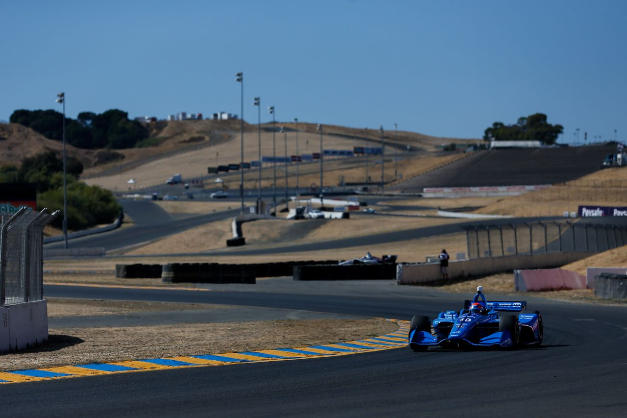 Ed Jones Indy Car Sonoma 2018 006