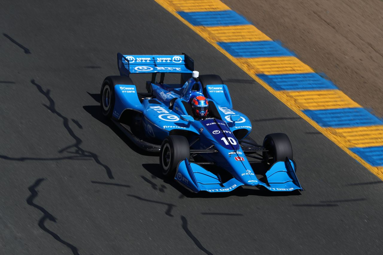 Ed Jones Indy Car Sonoma 2018 007