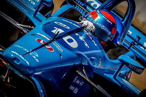 Jones signs off sophomore IndyCar season with top ten finish at Sonoma