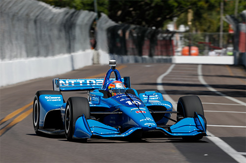 Ed Jones Chip Ganassi Racing Streets Of St Petersburg