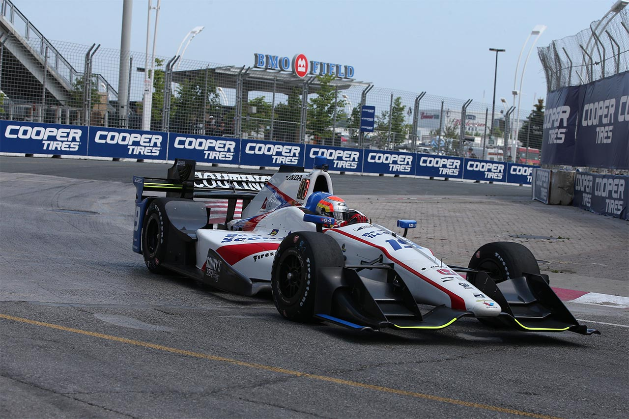 Ed Jones Honda Indy Toronto 2